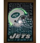 New York Jets Sports Neon Wall Art Print by Neonetics for sale - Made in USA