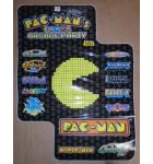 PAC-MAN (PACMAN) ARCADE PARTY Video Arcade Game Machine Cocktail Table SIDE DECAL #3021 for sale