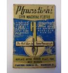 PFANSTIEHL JUKEBOX COIN MACHINE NEEDLE for EARLY JUKEBOX MODELS - STRAIGHT SHANK for sale