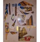 PHARAOH Pinball Machine Game MISC. PLASTIC LOT #3089 for sale