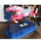 PINK HORSE Kiddie Ride for sale - WORKS GREAT - For INDOORS/OUTDOORS