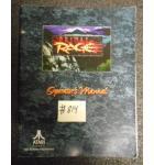 PRIMAL RAGE Arcade Machine Game OPERATORS MANUAL #814 for sale