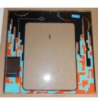 QIX Arcade Machine Game GLASS Marquee Bezel Artwork Graphic #1190 for sale