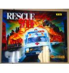 RESCUE 911 Pinball Machine Game Translite Backbox Artwork for sale - #28833-740