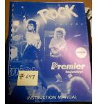 ROCK ENCORE Pinball Machine Game Instruction Manual #647 for sale - GOTTLIEB