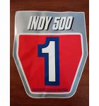 SEGA INDY 500 Arcade Machine Game SEAT DECAL #INY-11604B for sale
