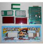 SMOKIN' TOKEN Ticket Redemption Arcade Game Machine Kit #1689 for sale