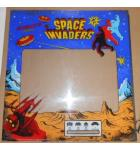 SPACE INVADERS SILVER ANNIVERSARY EDITION Arcade Machine Game Plexiglass Marquee Graphic Artwork #1180 for sale
