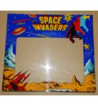 SPACE INVADERS SILVER ANNIVERSARY EDITION Arcade Machine Game Plexiglass Marquee Graphic Artwork for sale #SI40 by TAITO