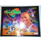 SPACE JAM Pinball Machine Game Translite Backbox Artwork #W17 for sale