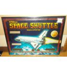 SPACE SHUTTLE Pinball Machine Game Backglass Backbox Artwork - #SS2 by WILLIAMS