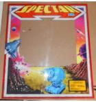 SPECTAR Arcade Machine Game Plexiglass Marquee Graphic Artwork #1191 for sale
