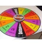 SPIN N WIN Ticket Redemption Arcade Machine Game Center Playfield - #6666