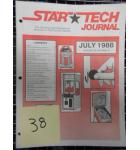 STAR TECH JOURNAL VOLUME 10 NUMBER 5 JULY 1988 Technical Monthly Publication #38