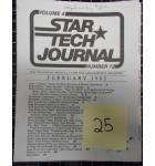 STAR TECH JOURNAL VOLUME 4 NUMBER 12 FEBRUARY 1983 Technical Monthly Publication #25