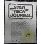 STAR TECH JOURNAL VOLUME 4 NUMBER 4 JUNE 1982 Technical Monthly Publication #34