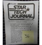 STAR TECH JOURNAL VOLUME 4 NUMBER 5 JULY 1982 Technical Monthly Publication #36