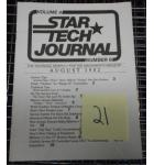 STAR TECH JOURNAL VOLUME 4 NUMBER 6 AUGUST 1982 Technical Monthly Publication #21