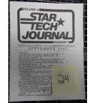 STAR TECH JOURNAL VOLUME 4 NUMBER 7 SEPTEMBER 1982 Technical Monthly Publication #24