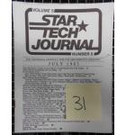 STAR TECH JOURNAL VOLUME 5 NUMBER 5 JULY 1983 Technical Monthly Publication #31