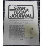 STAR TECH JOURNAL VOLUME 5 NUMBER STAR TECH JOURNAL VOLUME 3 NUMBER 12 FEBRUARY 1982 Technical Monthly Publication #19