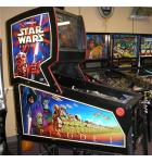 STAR WARS EPISODE 1 Pinball Machine Game for sale by WILLIAMS - LED UPGRADE
