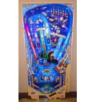 STERN STAR WARS PRO Pinball Machine Game Playfield Production Reject #1136 for sale