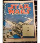 STAR WARS Video Arcade Machine Game Operator's Manual & Illustrated Parts List for sale by ATARI #12