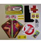 STERN GHOSTBUSTERS Pinball Machine Game LEXAN Decals 16 Piece #2 for sale
