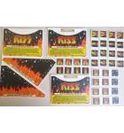 STERN KISS Pinball Machine Game LEXAN Decals 41 Piece #4 for sale