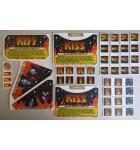 STERN KISS Pinball Machine Game LEXAN Decals 45 Piece #2 for sale