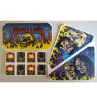 STERN METALLICA Pinball Machine Game LEXAN APRON Decal Set for sale