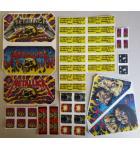 STERN METALLICA Pinball Machine Game LEXAN Decals 41 Piece #3 for sale