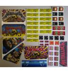 STERN METALLICA Pinball Machine Game LEXAN Decals 50 Piece #2 for sale