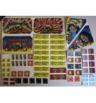 STERN METALLICA Pinball Machine Game LEXAN Decals 75 Piece #1 for sale
