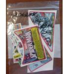STERN SPIDER-MAN VAULT Pinball Machine Game Decal Set for sale