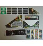 STERN THE WALKING DEAD Pinball Machine Game 23 Piece Decal Set