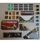 STERN THE WALKING DEAD Pinball Machine Game 30 Piece Decal Set