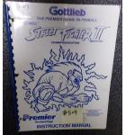 STREET FIGHTER II CHAMPION EDITION Pinball Machine Game Instruction Manual #509 for sale - GOTTLIEB