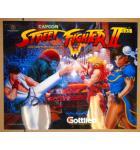 STREET FIGHTER II Pinball Machine Game Translite Backbox Artwork for sale - #28833-735
