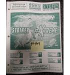 STRIKER XTREME Pinball Machine Game Owner's Manual #404 for sale