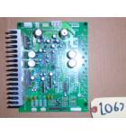 Sega OUTRUN 2 Arcade Machine Game PCB Printed Circuit SOUND AMP Board #2067 for sale
