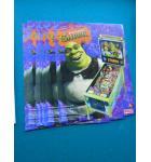 SHREK Pinball Machine Game Original Sales Promotional Flyer