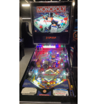 Stern MONOPOLY PINBALL Game - HOME USE ONLY - CHROME TRIM!