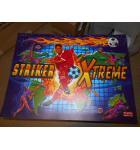 STRIKER XTREME Pinball Machine Game Translite Backbox Artwork