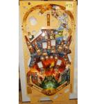 THE HOBBIT Pinball Machine Game Playfield #78 by Jersey Jack - Production Defect