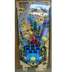 THE SHADOW Pinball Machine Game Playfield #3080 for sale
