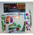 THE SOPRANOS Pinball Machine Game PARTIAL Plastic Set #2 by Stern