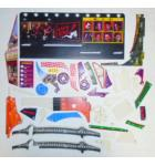 THE SOPRANOS Pinball Machine Game PARTIAL Plastic Set #228 by Stern