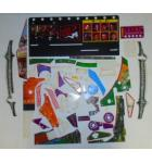 THE SOPRANOS Pinball Machine Game PARTIAL Plastic Set #234 by Stern